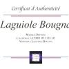 Certificat d'authenticité Laguiole Bougna