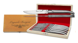 Coffret de couteaux de table Laguiole en Inox