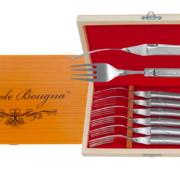 Coffret de fourchettes Laguiole en Inox