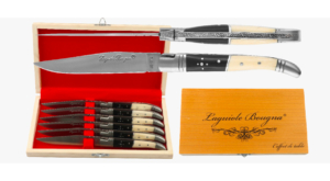 Coffret de couteaux de table Laguiole en Os et Corne